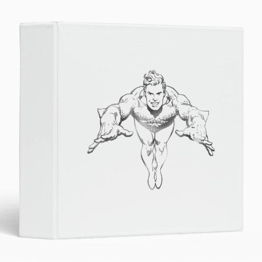 Aquaman que se lanza BW delantero