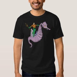 Aquaman Rides Seahorse T Shirts