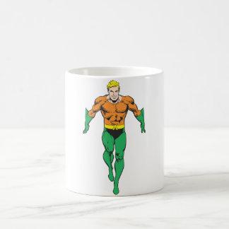 Aquaman Runs Coffee Mug