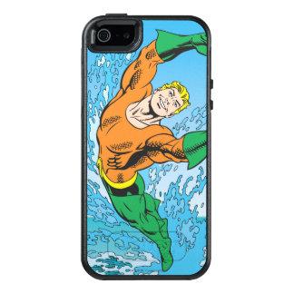 Aquaman salta del mar funda otterbox para iPhone 5/5s/SE