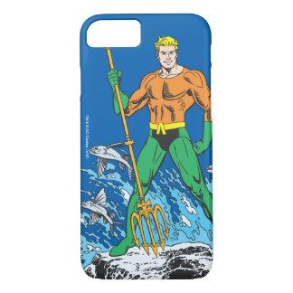 Aquaman se coloca con el Pitchfork Funda iPhone 7