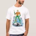 Aquaman se coloca con el Pitchfork Playera