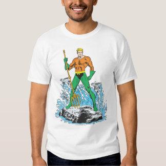 Aquaman se coloca con el Pitchfork Playeras