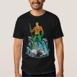 Aquaman se coloca con el Pitchfork Poleras
