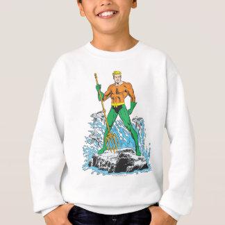 Aquaman se coloca con el Pitchfork Sudadera