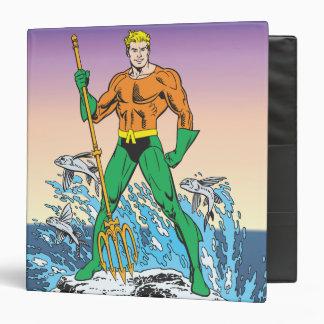 "Aquaman se coloca con la lanza carpeta 1 1/2"""