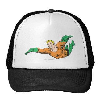 Aquaman se eleva gorras de camionero