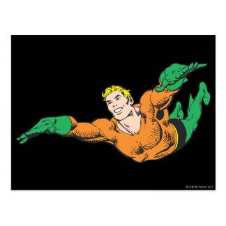 Aquaman se eleva postales