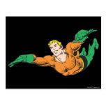 Aquaman se eleva tarjeta postal
