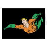 Aquaman se eleva tarjeton