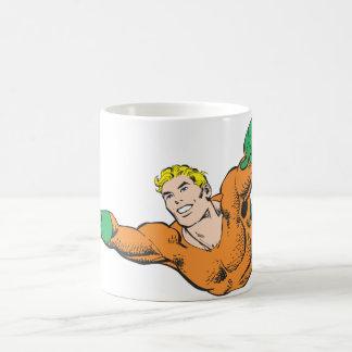 Aquaman se eleva taza