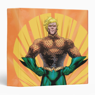 Aquaman Standing 3 Ring Binder