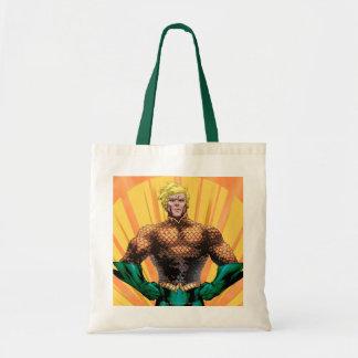 Aquaman Standing Canvas Bag