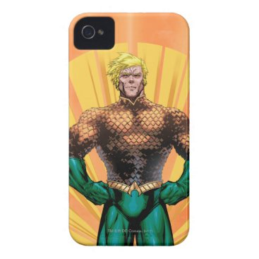 Aquaman Standing iPhone 4 Case
