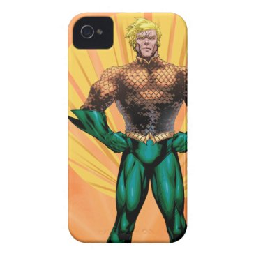 Aquaman Standing iPhone 4 Cover