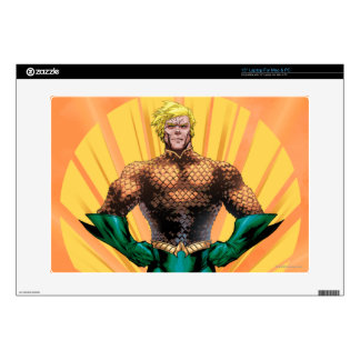 Aquaman Standing Decal For Laptop