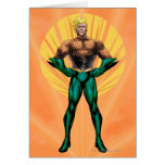 Aquaman Standing Greeting Card