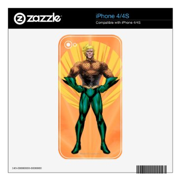 Aquaman Standing iPhone 4S Decal