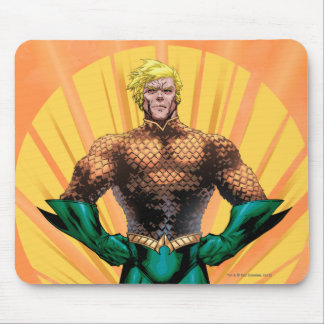Aquaman Standing Mouse Pad