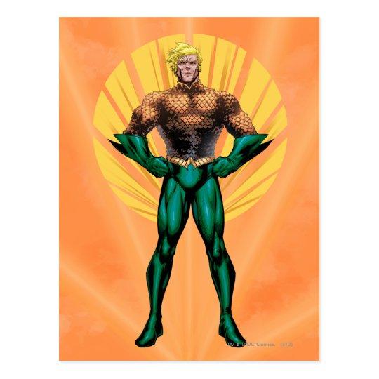 Aquaman Standing Postcard