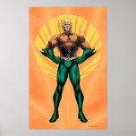 Aquaman Standing Posters