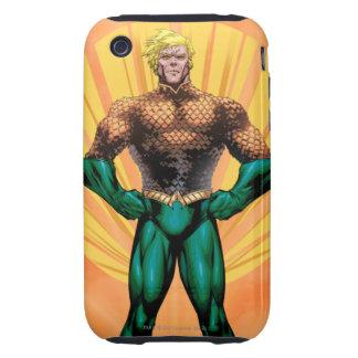 Aquaman Standing Tough iPhone 3 Case