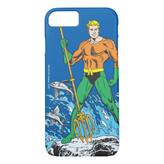 Aquaman Stands with Pitchfork iPhone 8/7 Case
