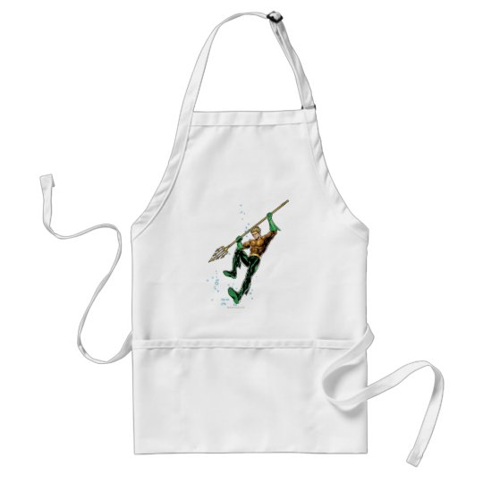 Aquaman with Spear Adult Apron