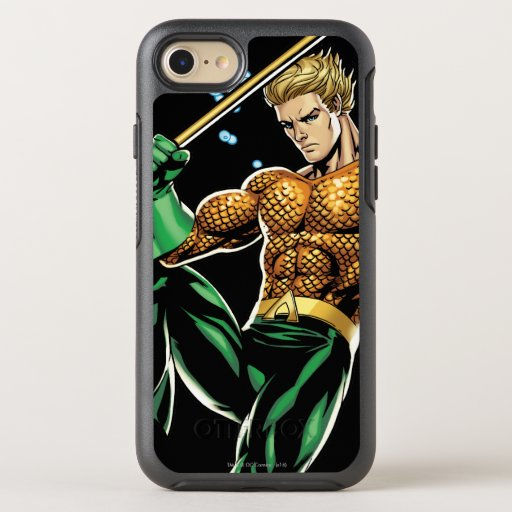Aquaman with Spear OtterBox Symmetry iPhone SE/8/7 Case