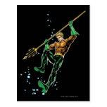 Aquaman with Spear Postcard