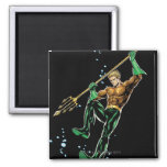 Aquaman with Spear Refrigerator Magnet
