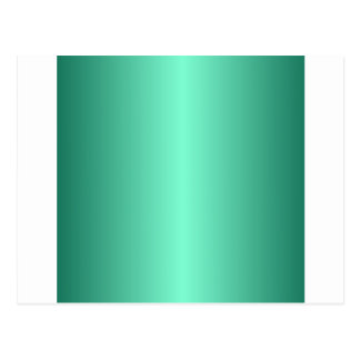 Aquamarine and Castleton Green Gradient Postcard
