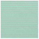 [ Thumbnail: Aquamarine and Dark Gray Colored Lines Fabric ]