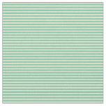 [ Thumbnail: Aquamarine and Tan Pattern Fabric ]