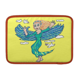 Aquamarine Angel MacBook Sleeve