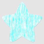 Aquamarine-Azul-Oscuro-Violeta-Rendir-Fibra-Modelo Calcomanía Forma De Estrella Personalizada