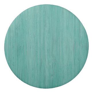 Aquamarine Bamboo Wood Grain Look Eraser