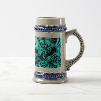 Aquamarine Beer Stein