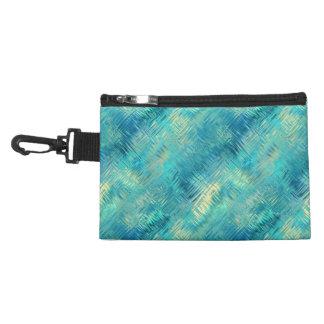 Aquamarine Blue Crystal Gel Texture Accessory Bags