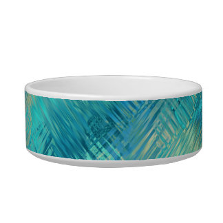 Aquamarine Blue Crystal Gel Texture Bowl