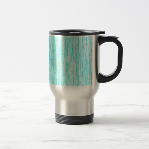 Aquamarine-Blue-Dark-Violet-Render-Fibers-Pattern 15 Oz Stainless Steel Travel Mug