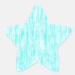 Aquamarine-Blue-Dark-Violet-Render-Fibers-Pattern Star Sticker