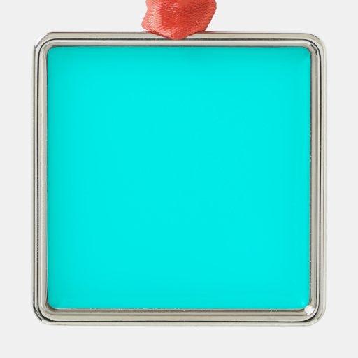 Aquamarine Blue  Elegant Fashion Color Ornaments
