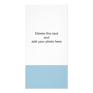 Aquamarine Blue High End Solid Color Card