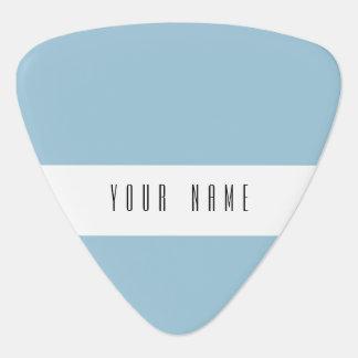 Aquamarine Blue High End Solid Color Guitar Pick