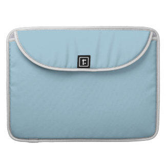 Aquamarine Blue High End Solid Color Sleeves For MacBook Pro