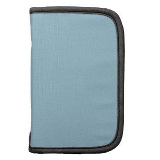 Aquamarine Blue Solid Color Planner