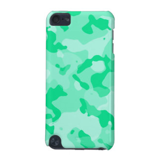Aquamarine Camo; Camouflage iPod Touch 5G Case