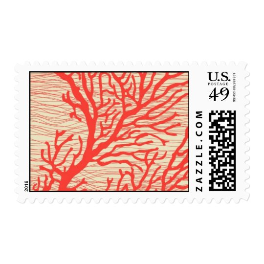 Aquamarine coral reef - resort by Ceci New York Postage