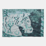 Aquamarine del caballo del carrusel